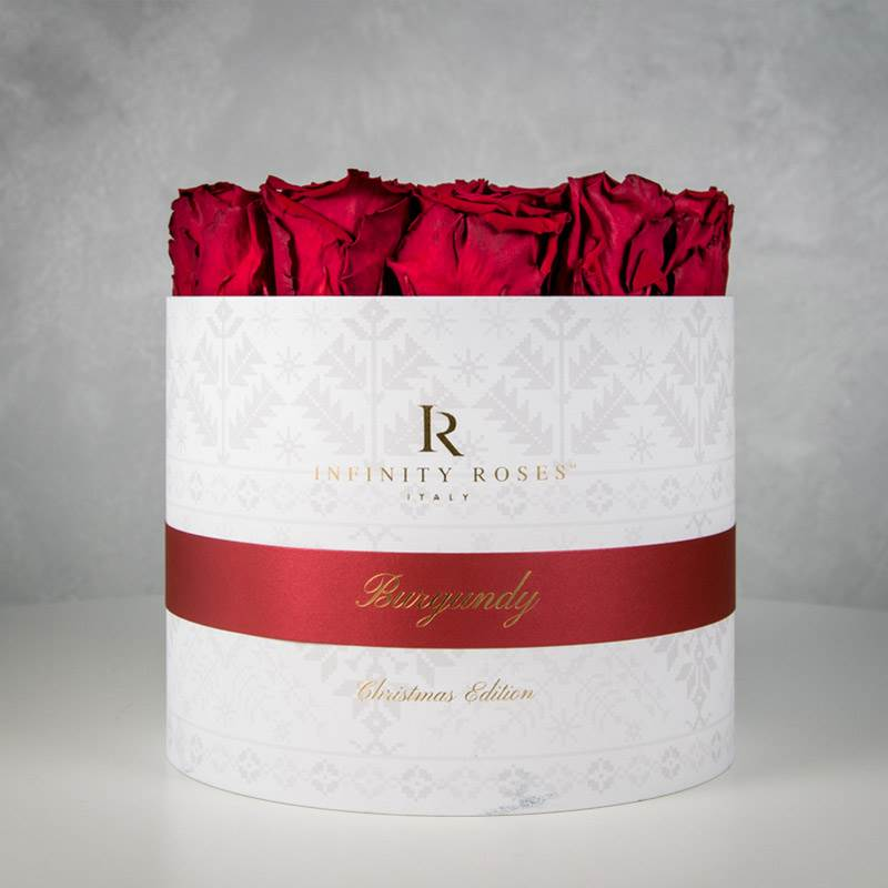 Collection Fiocco di neve with Rosa Burgundy